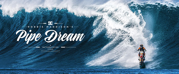 Video: Robbie Maddison's Pipe Dream