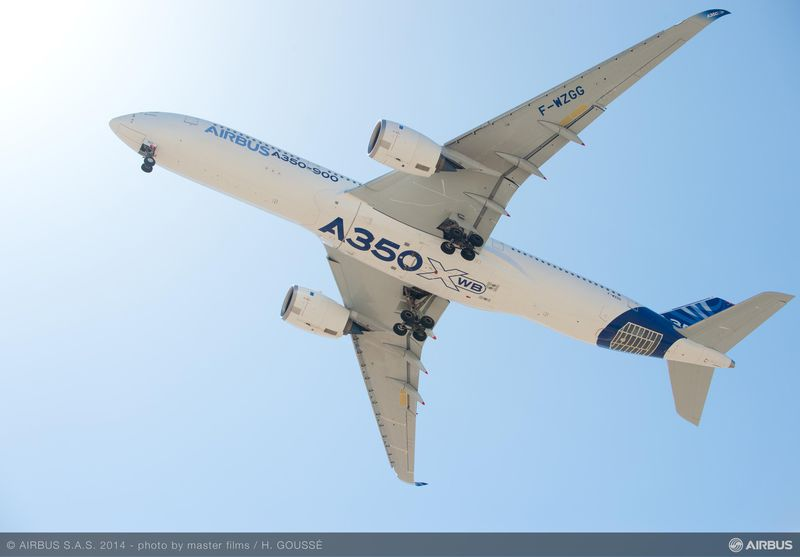 The New Airbus A350XWB
