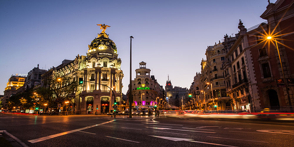 Virtual City Tour: Madrid