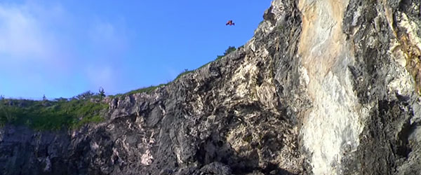 Video: Trip Of A Lifetime — Cliff Jumping in Bermuda