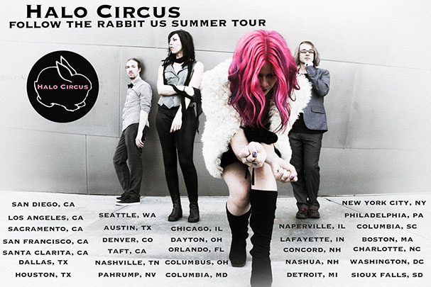 Travel Profile: Allison Iraheta of Halo Circus
