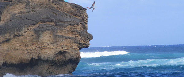 Five Cliff Jumping Spots