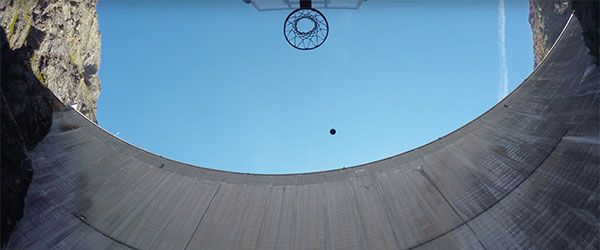 Video: Record-Breaking Basketball Shot in Switzerland
