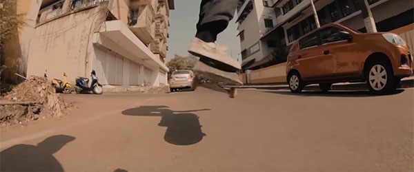 Video: Skating the Wild Streets of India