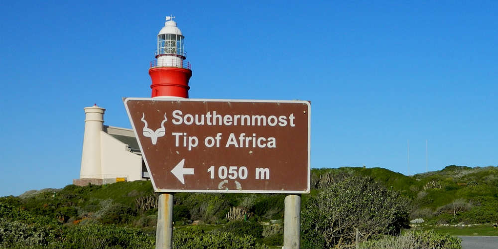 Southernmost Points on Each Continent