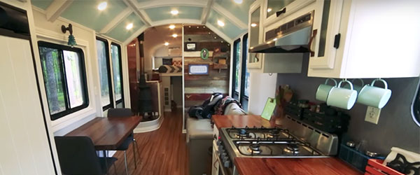 Video: School Bus > Off-Grid Home