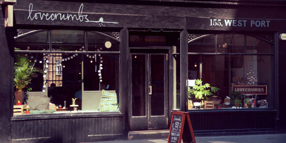Five coffee and tea shops in Edinburgh